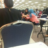 Photo taken at Exam Hall by Marsya N. on 10/10/2015