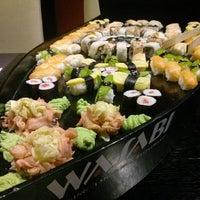 Photo taken at Wasabi Running Sushi & Wok Restaurant by Mónika G. on 1/16/2015
