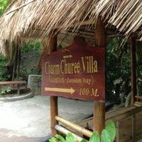 Photo taken at Charmchuree Villa @KOH TAO by Andrea B. on 12/30/2012