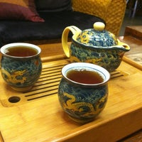 Photo taken at Goldfish Tea by Dhurata B. on 10/9/2012