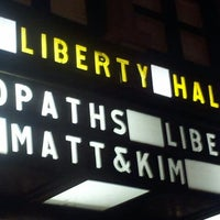 Photo taken at Liberty Hall by greg b. on 11/4/2012