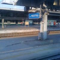 Photo taken at Venezia Mestre Railway Station (XVY) by Christopher M. on 10/7/2012