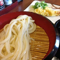 Photo taken at Marugame Seimen by ょぅ on 4/2/2013