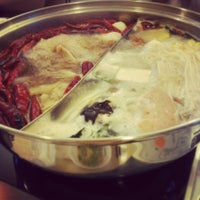 Photo taken at 鮮得來Hot Pot by Ariel on 2/14/2015