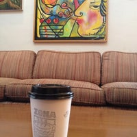 Photo taken at Zona Rosa Caffe by Rose N. on 7/21/2013