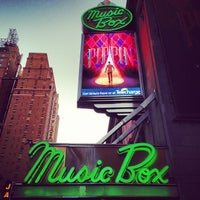 Photo taken at Music Box Theatre by Jack R. on 5/2/2013