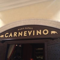 Photo taken at Carnevino by Kristen N. on 5/12/2013