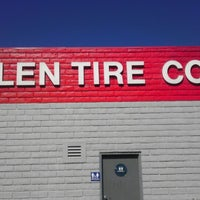 Photo taken at Allen Tire Company by Ryan M. on 2/25/2013