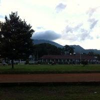 Photo taken at Alun Alun Pandeglang by Angga P. on 2/1/2014