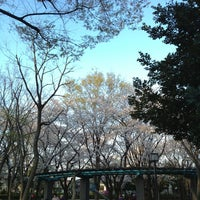 Photo taken at 塚山公園 by Kumiko H. on 3/25/2013