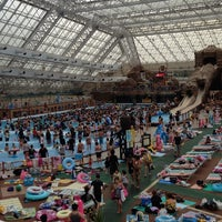 Photo taken at Summerland Water Adventure by Takahiro A. on 9/14/2013