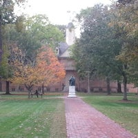 Photo taken at The College of William & Mary by Cody H. on 10/26/2012