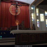 Photo taken at Iglesia De Los Angeles by Zach C. on 8/21/2013