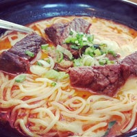 Photo taken at Ajisen Ramen by Adrian O. on 3/30/2013