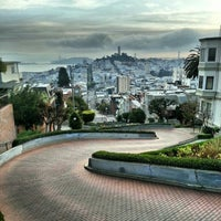 Photo taken at Lombard Street by James H. on 12/15/2012