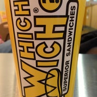Photo taken at Which Wich? Superior Sandwiches by Mark H. on 12/16/2012
