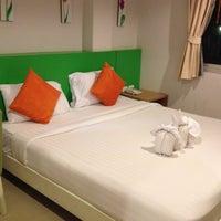 Photo taken at Baramee Hip Hotel Phuket by takakoji on 5/3/2013