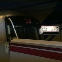 Photo taken at Oedo Line Higashi-nakano Station (E31) by takakoji on 9/30/2015