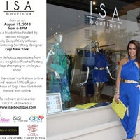Photo taken at ISA boutique by Kelly S. on 8/15/2013