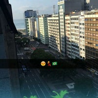 Photo taken at Merlin Copacabana Hotel by Vicky A. on 9/24/2016