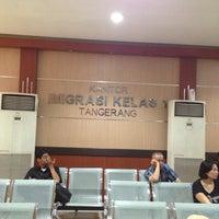 Photo taken at Kantor Imigrasi Kelas 1 Tangerang by Na N. on 12/8/2015