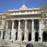 Photo taken at Bolsa de Madrid by Erika ~🐒~ on 10/14/2012