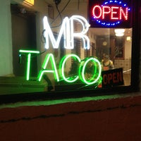 Photo taken at Mr. Taco by P1 on 1/6/2013