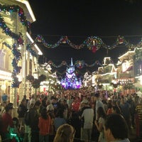 Photo taken at Main Street, U.S.A. by Alibio E. on 12/18/2012