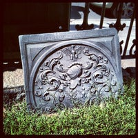 Photo taken at King's Chapel Burying Ground by Becky R. on 9/16/2012