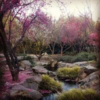 Photo taken at Shinzen Japanese Garden by Reena A. on 1/28/2013