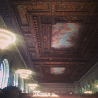 Photo taken at Rose Main Reading Room - New York Public Library by Meir S. on 7/5/2013