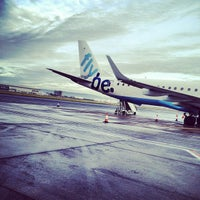 Photo taken at George Best Belfast City Airport (BHD) by Chris W. on 12/2/2012