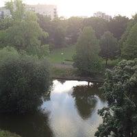 Photo taken at Kronenburgerpark by Mathias d. on 6/30/2013