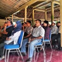 Photo taken at Balai Desa Ponjong by Nurudin J. on 4/24/2013