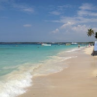 Photo taken at Playa Blanca by Wim D. on 12/18/2012