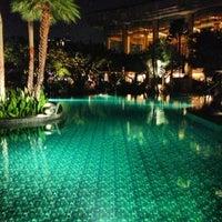 Photo taken at Shangri-La Hotel, Bangkok by Nick B. on 4/5/2013