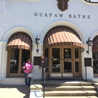 Photo taken at Quapaw Baths & Spa by Blake on 3/26/2016