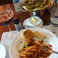 Photo taken at Spaghetti Kitchen by Yukti B. on 5/6/2014