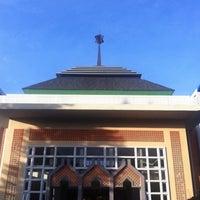 Photo taken at Masjid Al-Furqon by A H. on 4/11/2015