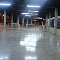 Photo taken at Terminal Rodoviário Miguel Mansur by Ewerton B. on 11/16/2012