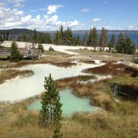 Photo taken at Yellowstone National Park - East Entrance by Tomoyuki N. on 9/17/2013