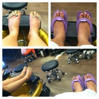 Photo taken at Image Nails by Crystal R. on 5/19/2013