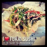 Photo taken at Fukai Sushi by Jonathan J. on 1/16/2013