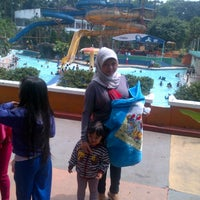 Photo taken at Karang Setra Swimming Pool by taufiq n. on 10/31/2013