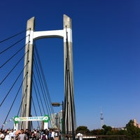 Photo taken at Kiba Park by Takamichi H. on 10/21/2012