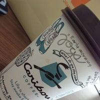 Photo taken at Caribou Coffee by Khairan B. on 6/27/2013