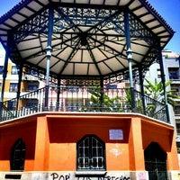 Photo taken at Parque Estudiante Javier Fernández Quesada ( Antiguo Parque Los Dragos) by Daniel L. on 7/7/2012