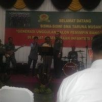 Photo taken at Pusat Persenjataan Infanteri (pussenif) by Raden Sri B. on 3/3/2015