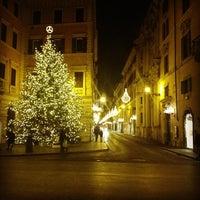 Photo taken at Via del Corso by Fabio S. on 11/27/2012