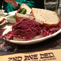 Photo taken at 2nd Ave Deli by Jason W. on 7/12/2013